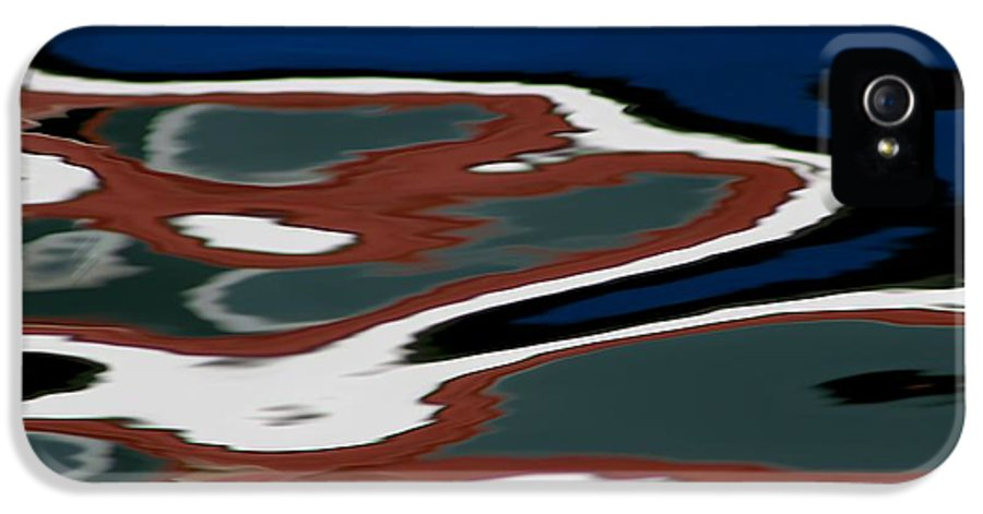 Reflections IPhone 5 Case featuring the photograph Red White And Blue Vi by Heidi Piccerelli