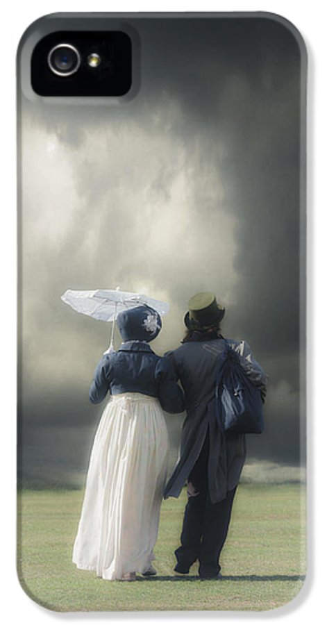 Couple IPhone 5 Case featuring the photograph Regency Couple by Joana Kruse