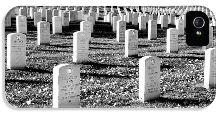 Arlington Cemetery IPhone 5 Case featuring the photograph Religion Never Dies by Greg Fortier