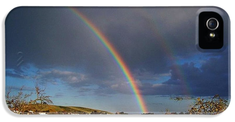 Rainbow IPhone 5 Case featuring the photograph Renewed Hope by Nancy Pauling