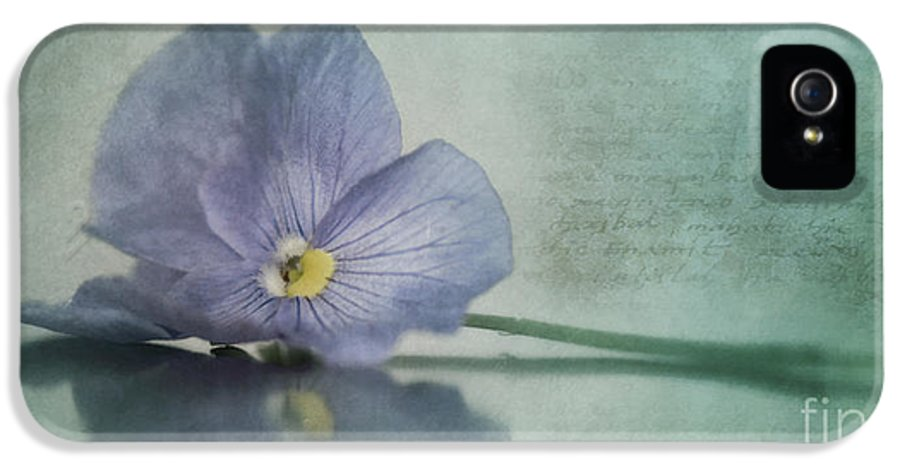 Pansy IPhone 5 Case featuring the photograph Resting by Priska Wettstein