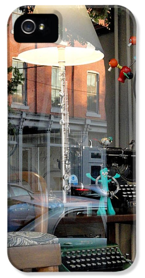 Lancaster IPhone 5 Case featuring the photograph Retro Reflection by Mary Beth Landis