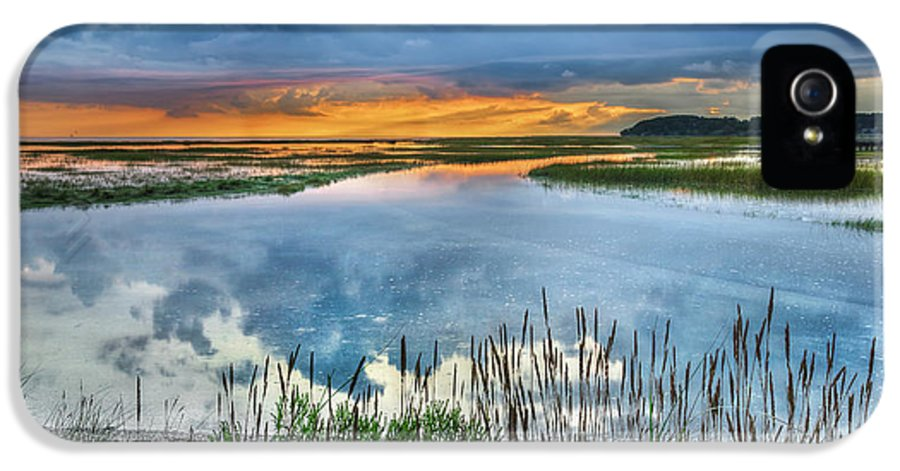 Cape Cod IPhone 5 Case featuring the photograph Road To Lieutenant Island by Bill Wakeley