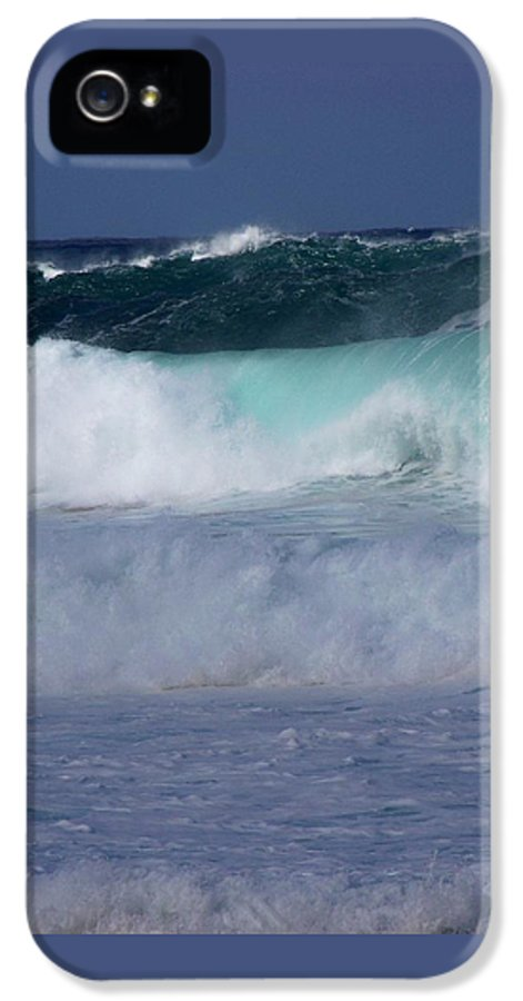 Surfing IPhone 5 Case featuring the photograph Rolling Thunder by Karen Wiles