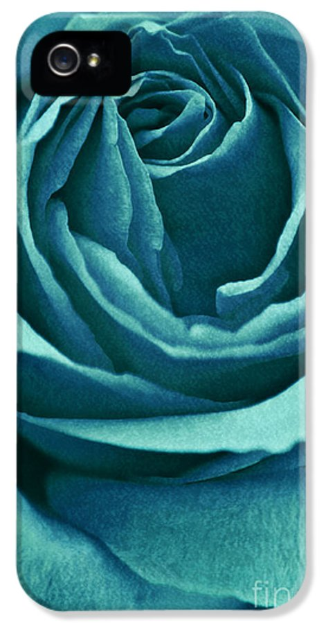 Rose IPhone 5 Case featuring the photograph Romance II by Angela Doelling AD DESIGN Photo and PhotoArt