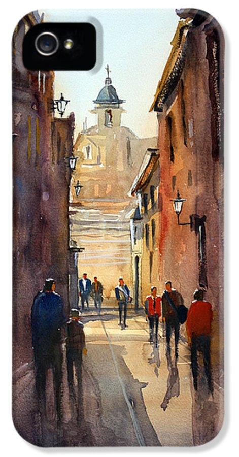 Ryan Radke IPhone 5 Case featuring the painting Rome by Ryan Radke