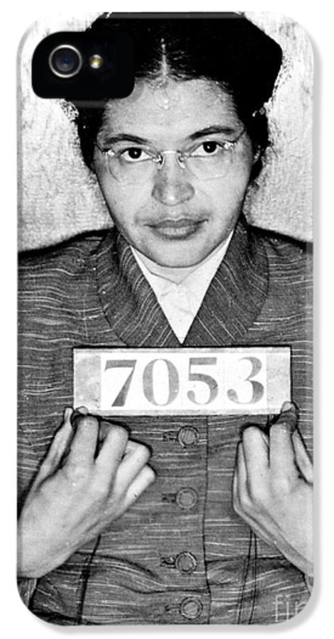 Rosa IPhone 5 Case featuring the photograph Rosa Parks by Unknown
