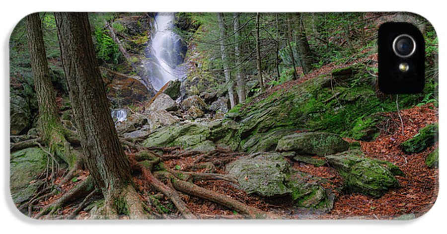 Race Brook Falls IPhone 5 Case featuring the photograph Rough Terrain by Bill Wakeley