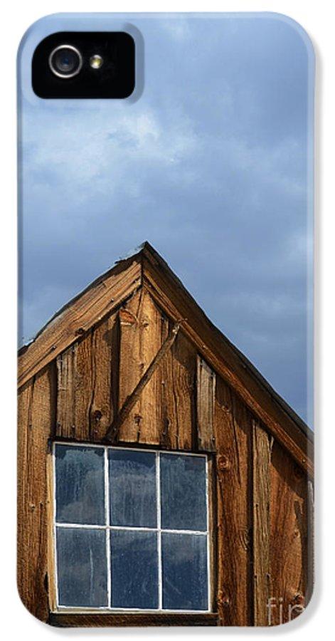 Window IPhone 5 Case featuring the photograph Rustic Cabin Window by Jill Battaglia