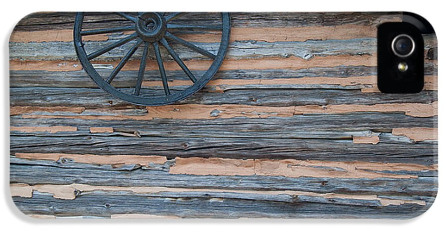 Popular IPhone 5 Case featuring the photograph Rustic Ornamentation - Yates Mill Pond by Paulette B Wright