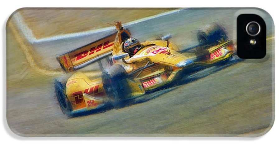 Ryan Hunter-reay IPhone 5 Case featuring the photograph Ryan Hunter-reay by Blake Richards
