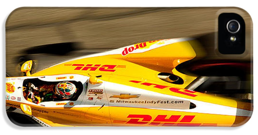 Long Beach Ca IPhone 5 Case featuring the photograph Ryan Hunter-reay by Denise Dube