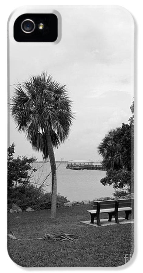 Ryckman IPhone 5 Case featuring the photograph Ryckman House In Melbourne Beach Florida by Allan Hughes