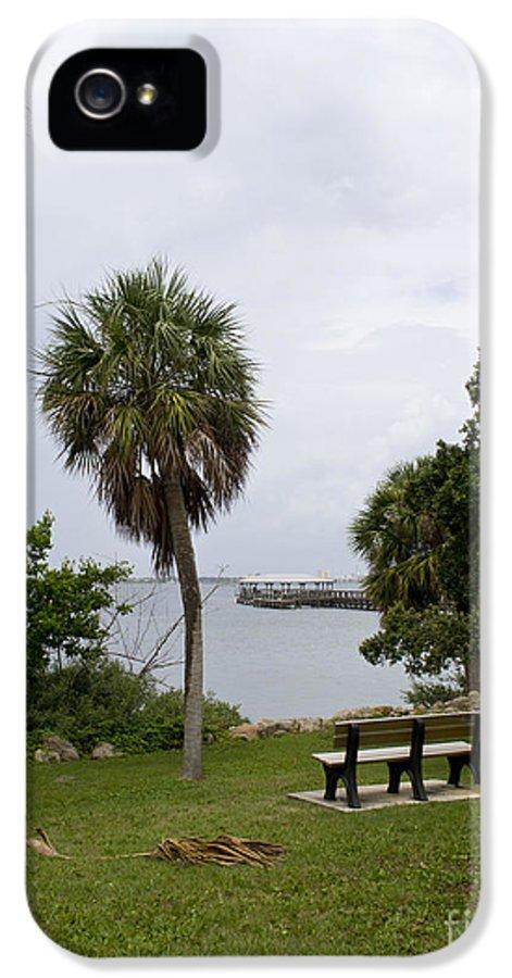 Ryckman IPhone 5 Case featuring the photograph Ryckman Park In Melbourne Beach Florida by Allan Hughes