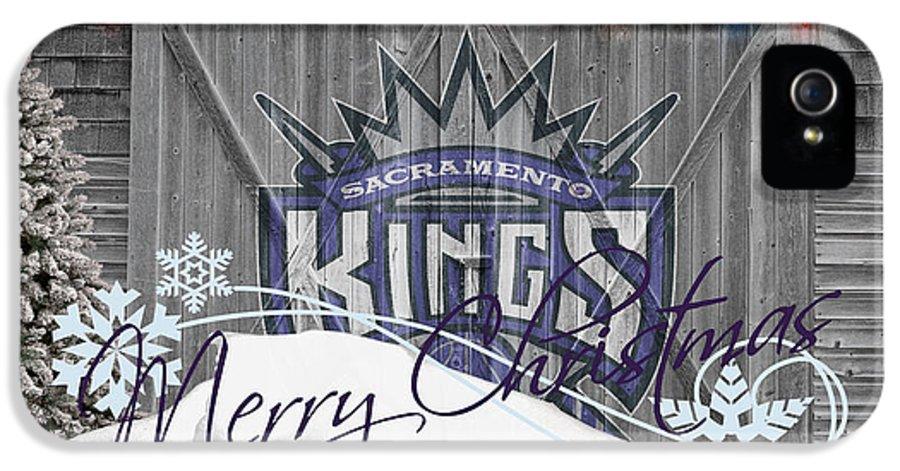 Kings IPhone 5 Case featuring the photograph Sacramento Kings by Joe Hamilton