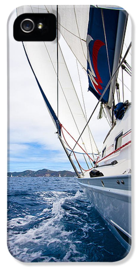 3scape Photos IPhone 5 / 5s Case featuring the photograph Sailing Bvi by Adam Romanowicz