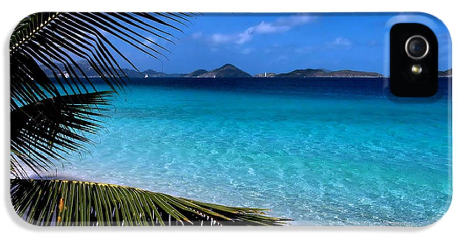 St. John IPhone 5 Case featuring the photograph Saloman Beach - St. John by Stephen Vecchiotti