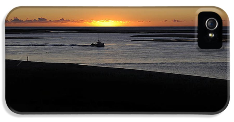 Cape Cod IPhone 5 Case featuring the photograph Salty Sunrise by Luke Moore