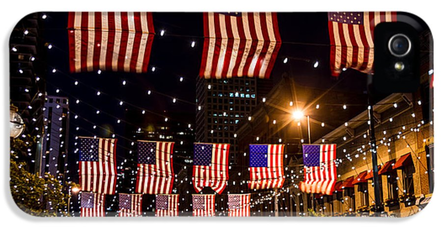 4th Of July IPhone 5 Case featuring the photograph Salute To Old Glory by Teri Virbickis