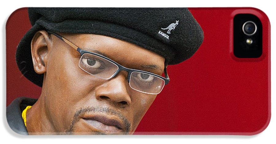 42nd Street IPhone 5 Case featuring the photograph Samuel L. Jackson by Juli Scalzi
