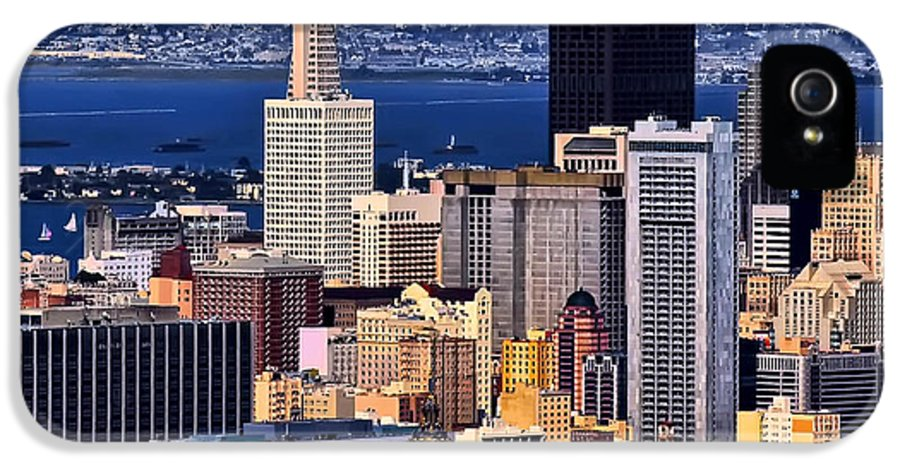 San Francisco IPhone 5 Case featuring the photograph San Francisco by Camille Lopez