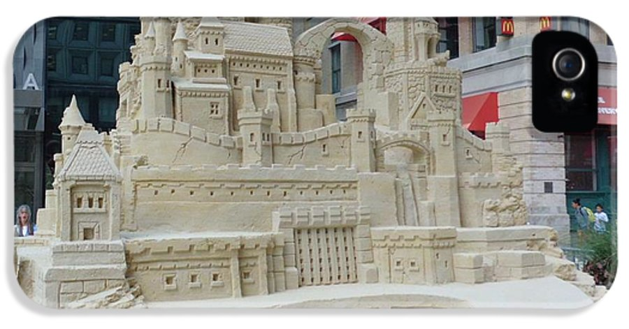Sand Castles IPhone 5 / 5s Case featuring the photograph Sand Castle by James Dolan