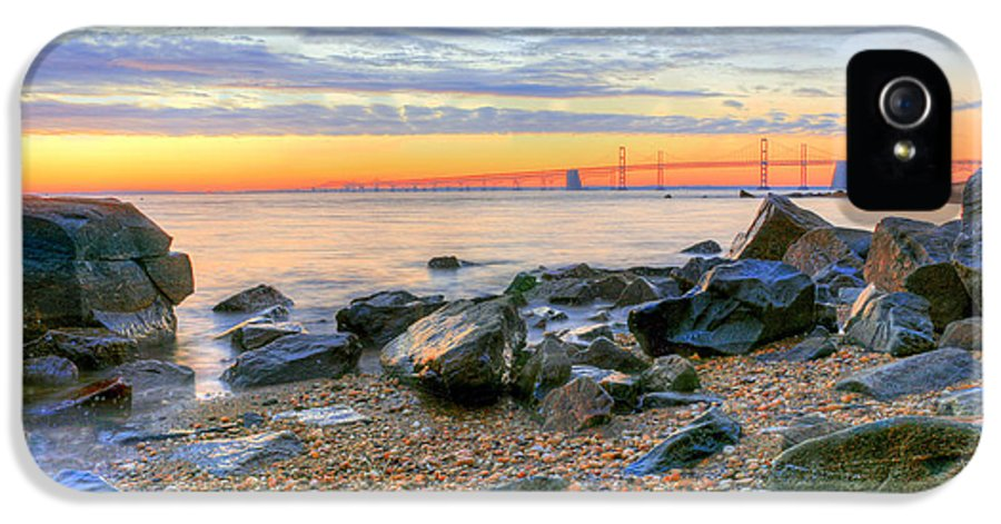 Chesapeake IPhone 5 Case featuring the photograph Sandy by JC Findley
