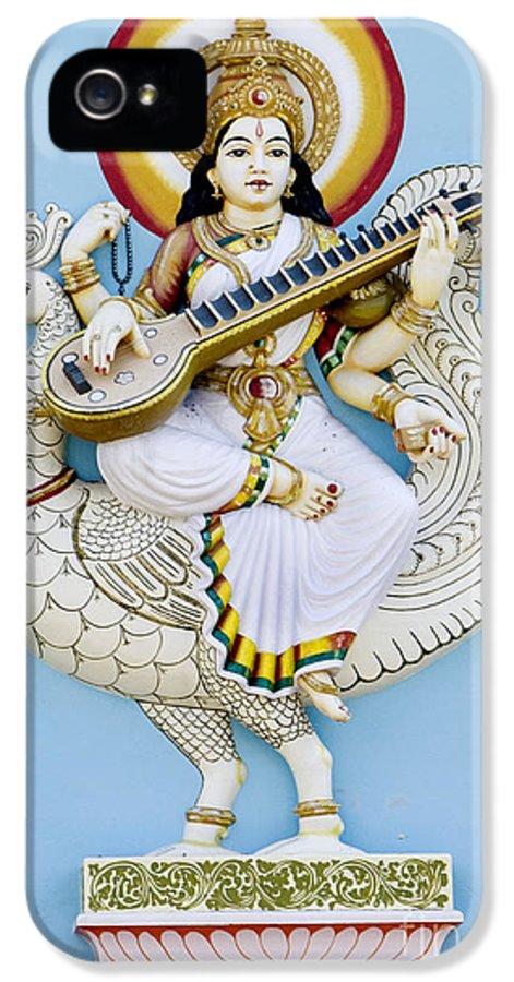 Saraswati IPhone 5 Case featuring the photograph Saraswati by Tim Gainey