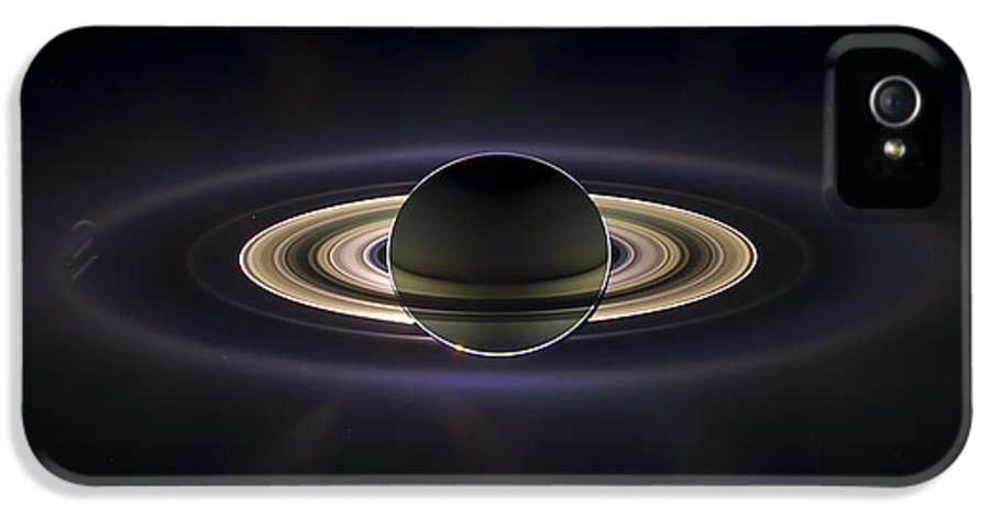 3scape Photos IPhone 5 Case featuring the photograph Saturn by Adam Romanowicz