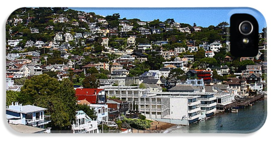 Sausalito IPhone 5 Case featuring the photograph Sausalito by Greg Thiemeyer