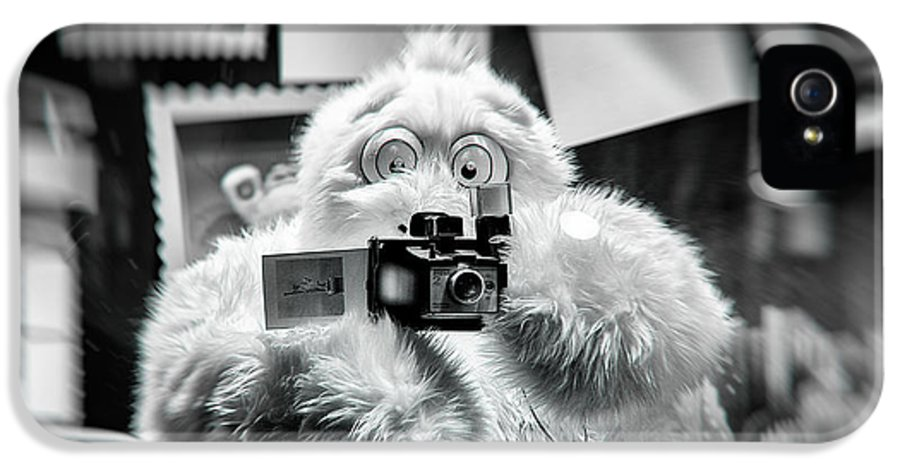 Abominable IPhone 5 Case featuring the photograph Say Abominable by Scott Wyatt