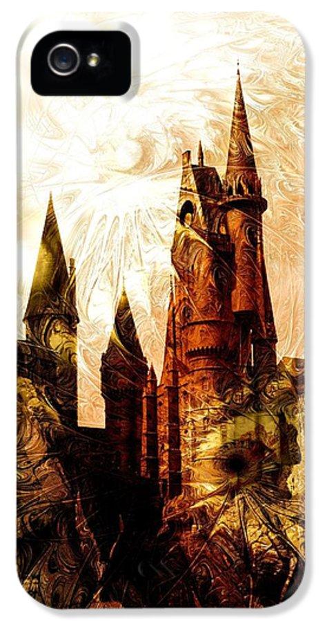 Malakhova IPhone 5 Case featuring the digital art School Of Magic by Anastasiya Malakhova
