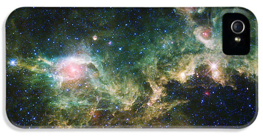 3scape IPhone 5 Case featuring the photograph Seagull Nebula by Adam Romanowicz