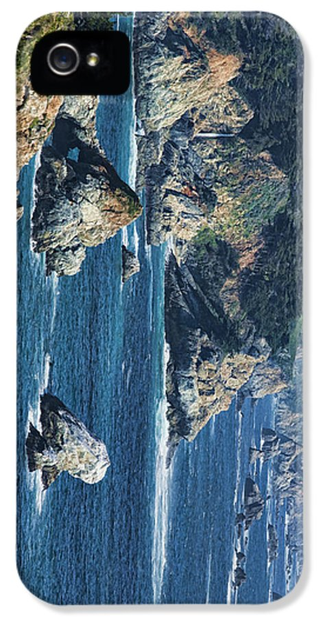 California IPhone 5 Case featuring the photograph Seascape On Ca Highway 1 by Gregory Scott