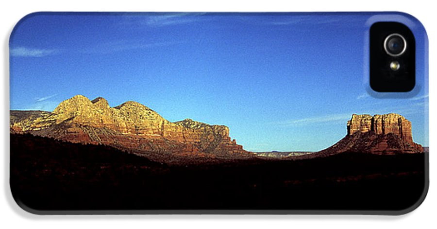 Sedona IPhone 5 Case featuring the photograph Sedona by Daniel Troy