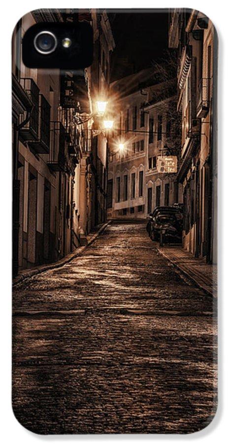 Joan Carroll IPhone 5 Case featuring the photograph Segovia Predawn by Joan Carroll