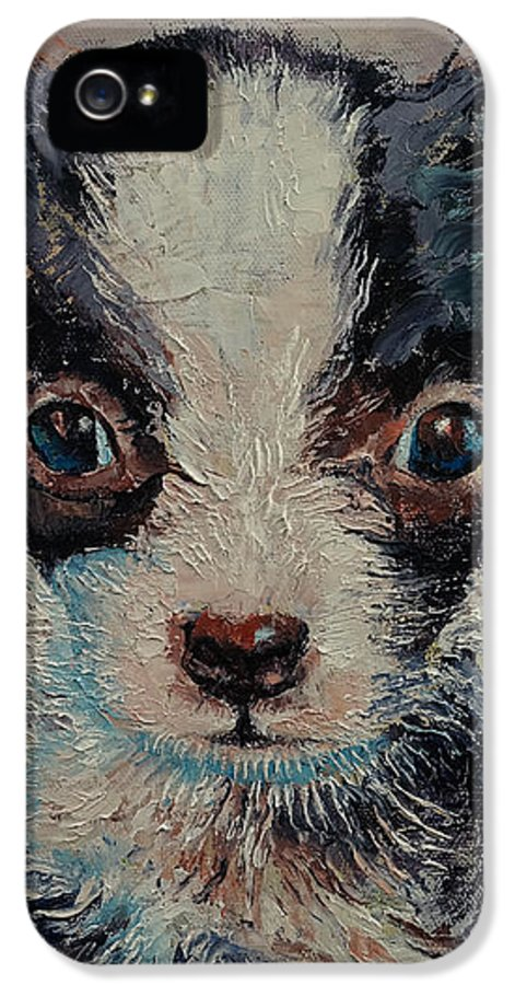 Shakespeare IPhone 5 Case featuring the painting Shakespeare by Michael Creese
