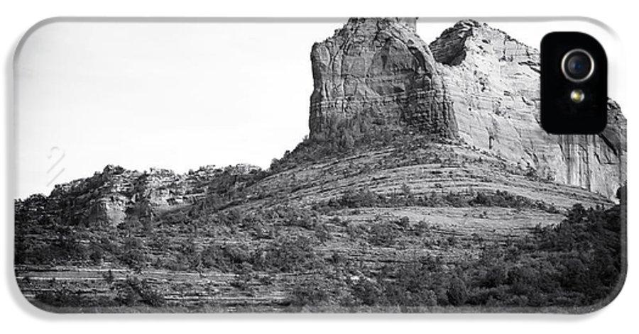 Shapes Of Oak Creek Canyon IPhone 5 Case featuring the photograph Shapes Of Oak Creek Canyon by John Rizzuto