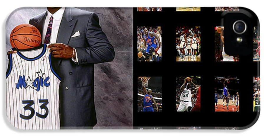 Shaquille O'neal IPhone 5 Case featuring the photograph Shaquille O'neal by Joe Hamilton