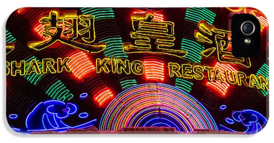 Shark King Restaurant IPhone 5 Case featuring the photograph Shark King Restaurant by Dean Harte