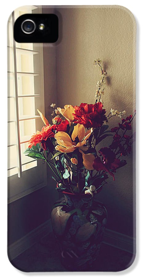Still Life IPhone 5 Case featuring the photograph Shutters by Laurie Search