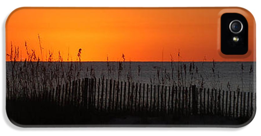 Alabama IPhone 5 Case featuring the digital art Simply Orange by Michael Thomas