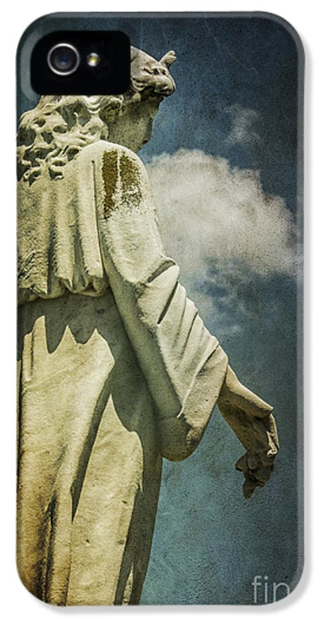 Sky IPhone 5 Case featuring the photograph Sky Angel by Terry Rowe