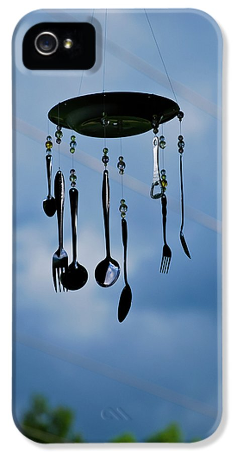 Great Smoky Mountains IPhone 5 Case featuring the photograph Smoky Mountain Windchime by Christi Kraft