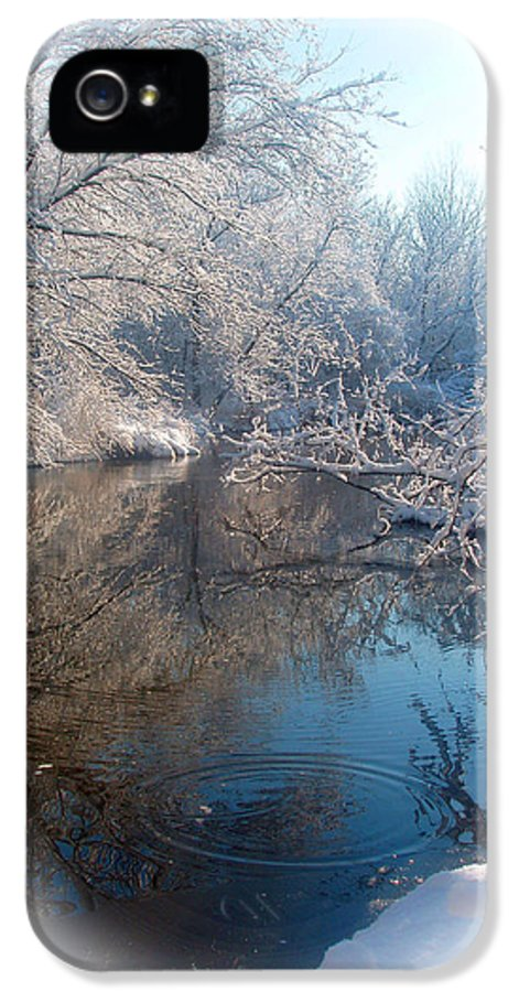 Winter IPhone 5 Case featuring the photograph Snowdrops by Teresa Schomig