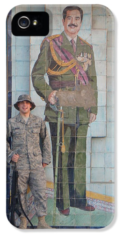 Soldier IPhone 5 Case featuring the photograph Soldier To Sedam by Sharla Fossen