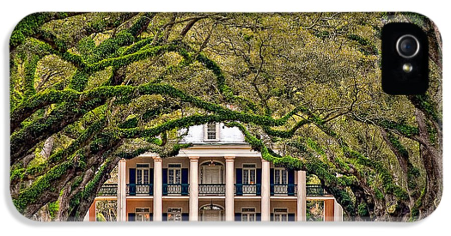 Oak Alley Plantation IPhone 5 Case featuring the photograph Southern Class by Steve Harrington