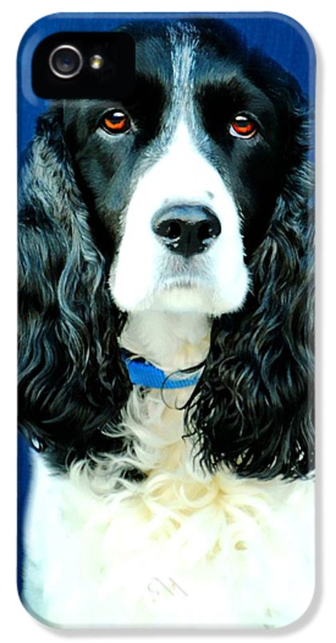 Animal IPhone 5 Case featuring the photograph Speaking Of Annie by Diana Angstadt