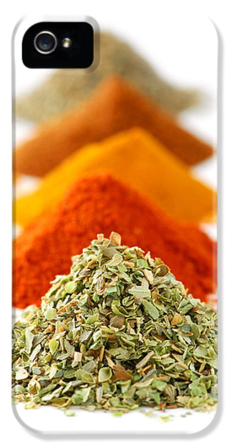 Spice IPhone 5 Case featuring the photograph Spices by Elena Elisseeva