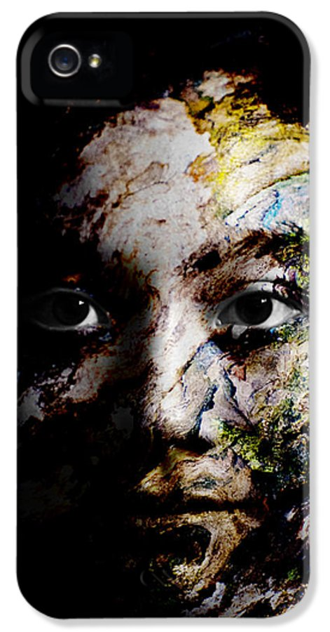 Splash IPhone 5 Case featuring the painting Splash Of Humanity by Christopher Gaston